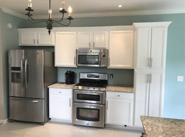 Kitchen Cabinet Painting In Massachusetts